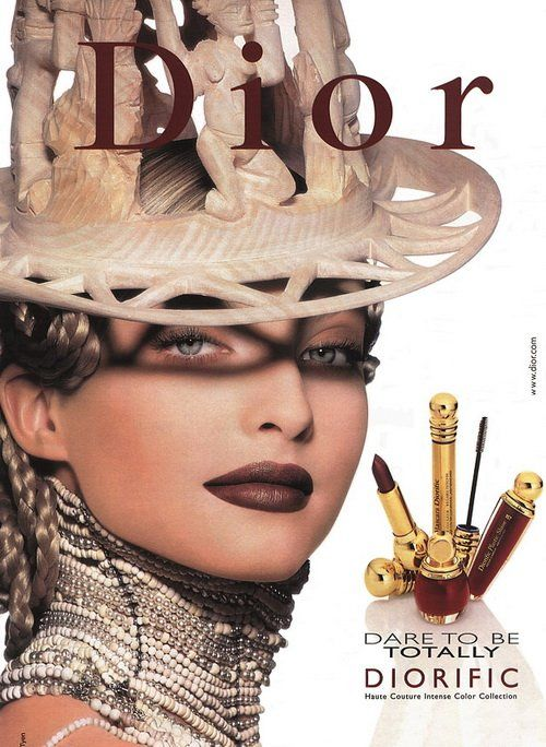 Christian Dior Magazine Advert - 1990s Dare to be totally Diorific collection by Tyen