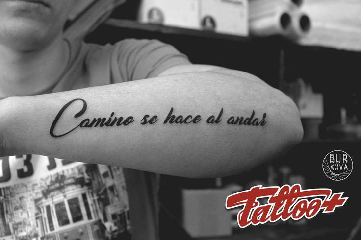 Тату татуировка надпись tattoo font