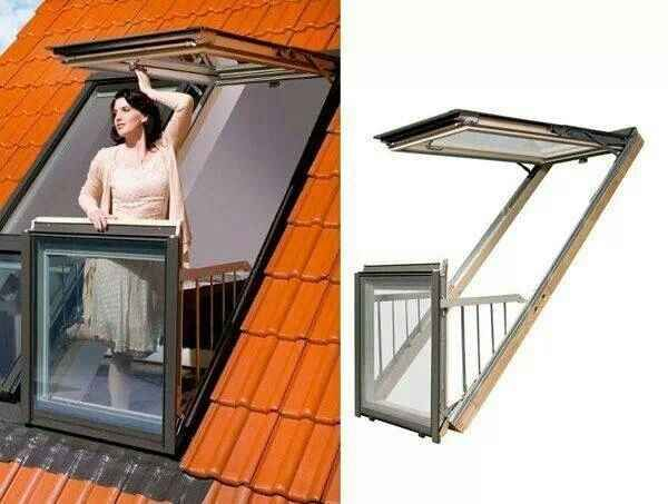 A Balcony Window You Can Step Out Into