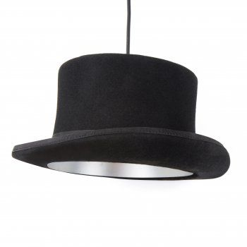 Top Hat Silver Celing Light | Cult UK