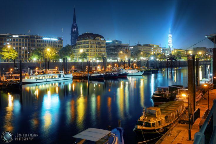 <3 Hamburg bei Nacht