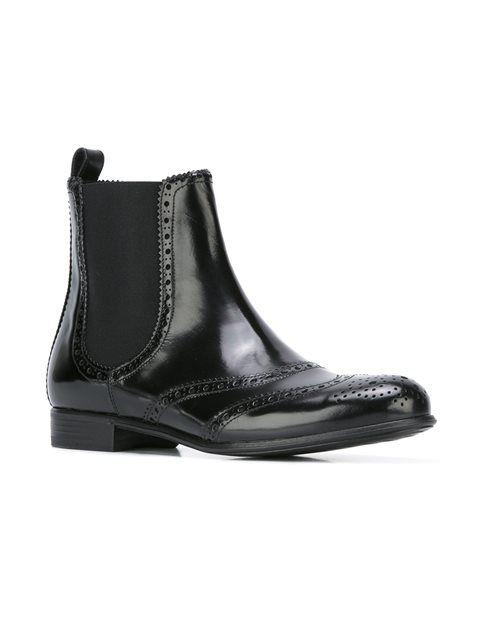 Dolce & Gabbana brogue Chelsea boots 525£