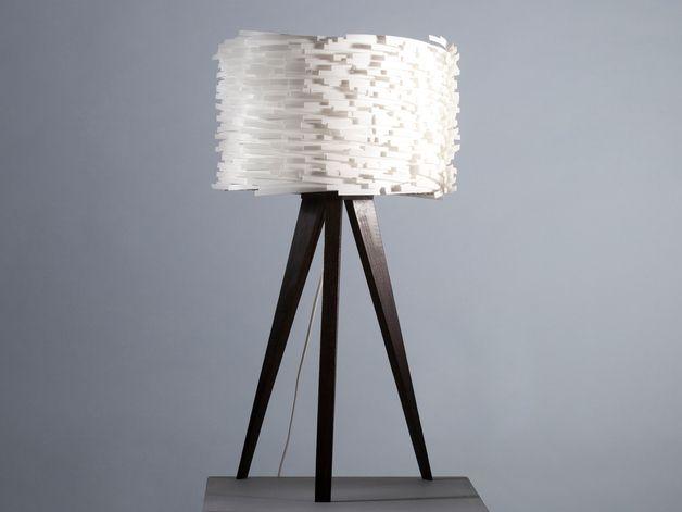 Moderne Stehlampe In Schwarz Und Weiss Wohnzimmer Lampe Wohnen Modern Standard Lamp