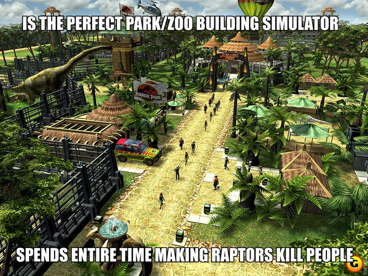 Jurassic Park the Game Fun