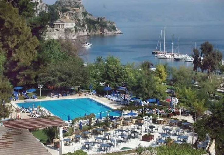 Corfu Palace Hotel in Corfu Town Corfu Greece One can dream right....