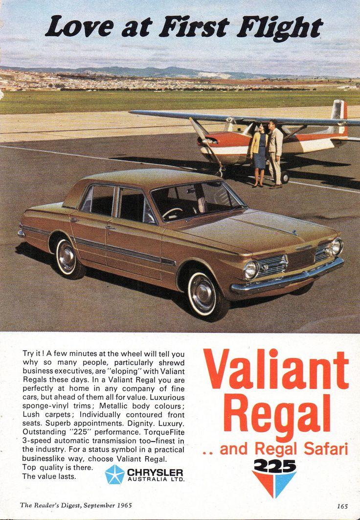 https://flic.kr/p/WrMH8A   1965 AP6 Chrysler Regal & Regal Safari 225 Aussie Original Magazine Advertisement