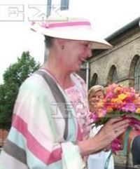 Queen Margrethe, June 28, 2001