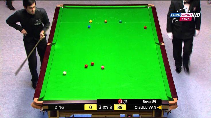 Ronnie O'Sullivan 12th MAXIMUM 147 Final Frame Final Welsh Open 2014 Ful...