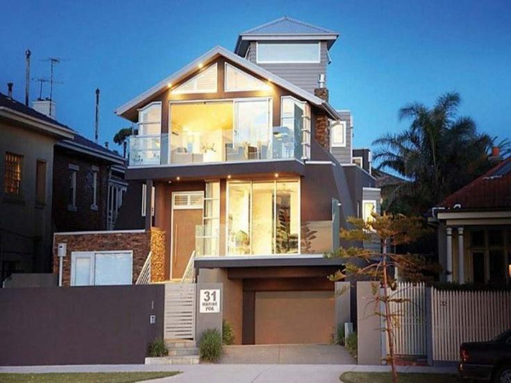 Small house facade home pinterest house design for Small house facade design
