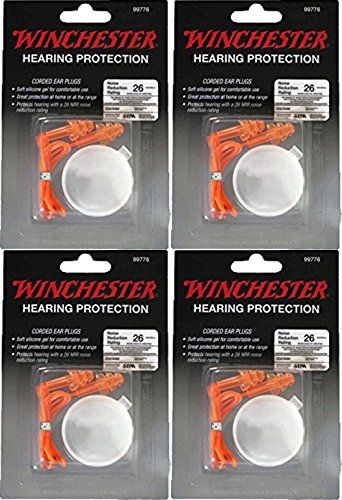 Winchester Hearing Protection Corded Ear Plugs - Orange - 4 Hearing Protection   https://huntinggearsuperstore.com/product/winchester-hearing-protection-corded-ear-plugs-orange/?attribute_pa_color=4-hearing-protection
