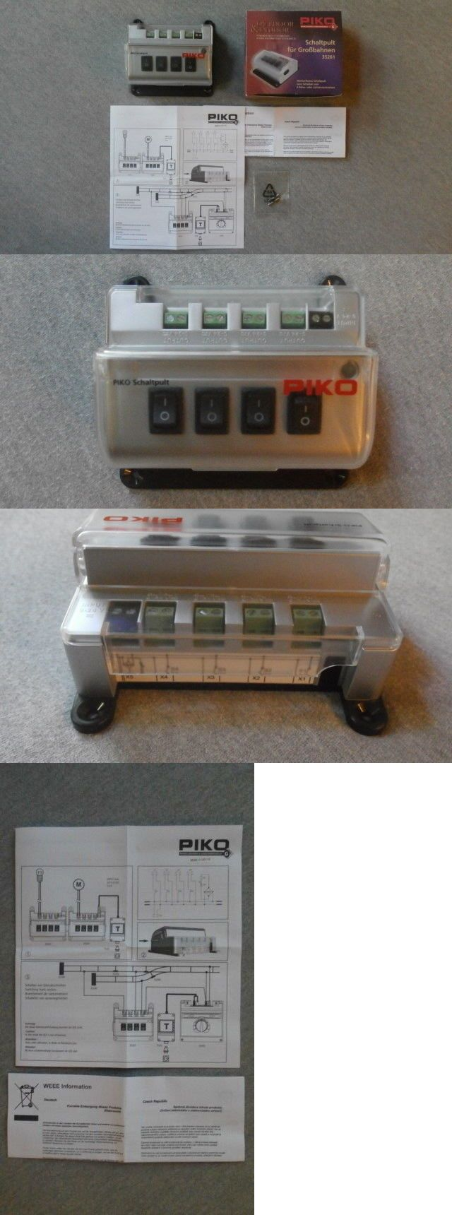 Other Railroad Power and Control 31109: Piko G Scale Weather-Resistant Switch Control Box #35261 -> BUY IT NOW ONLY: $64.99 on eBay!