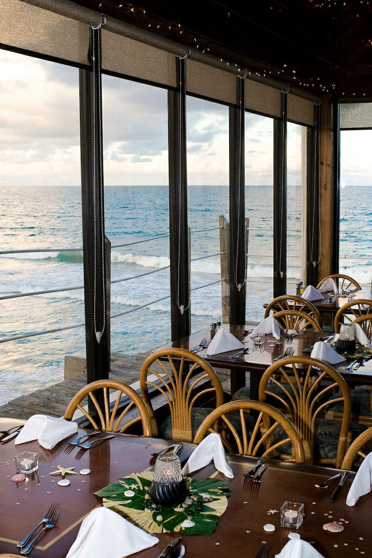 Atlantic Ocean Grille, Cocoa Beach, FL On the pier. Sunday buffet is good and great view.