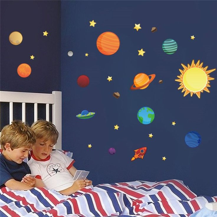 Nice Solar System Wall Stickers Ideas