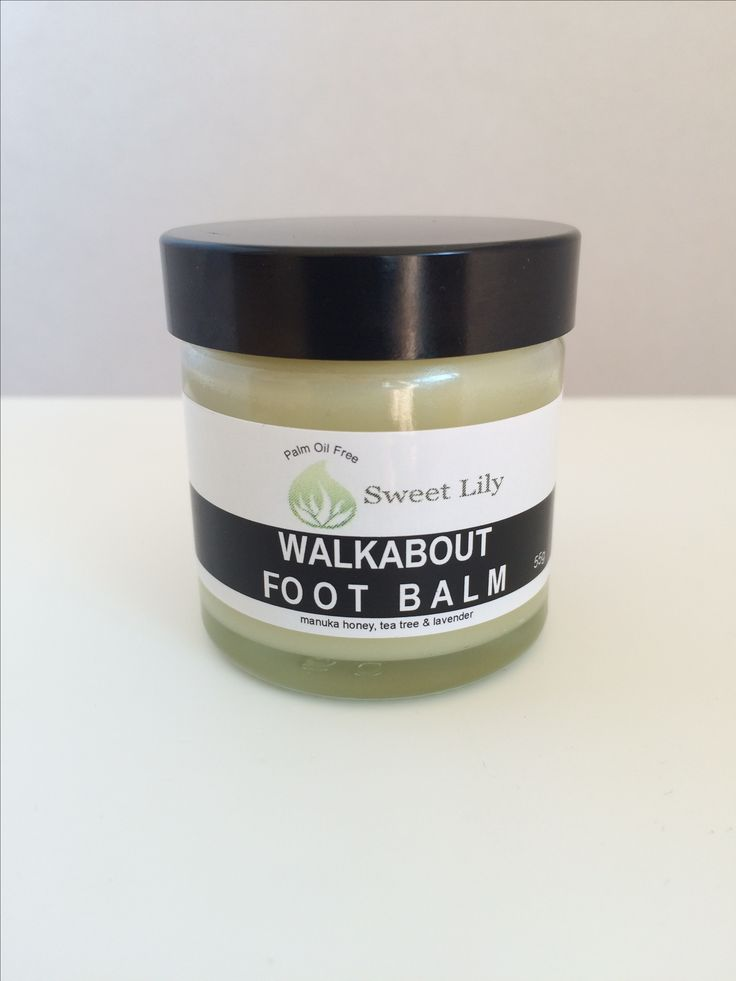 Walkabout Foot Balm. All the goodness of Manuka honey, Shea butter, coconut oil & a blend of essential oils💚 www.sweetlily.dk