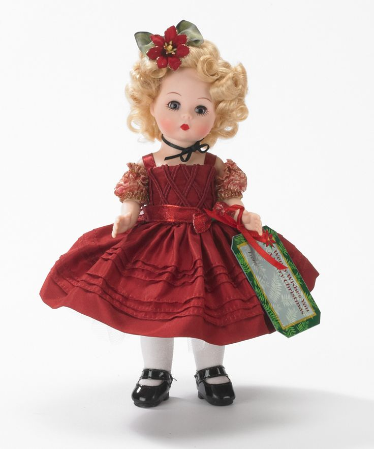 Madame Alexander Wendy Wishes You A Merry Christmas - 8 inch Doll from the Holiday Collection - $100 and under