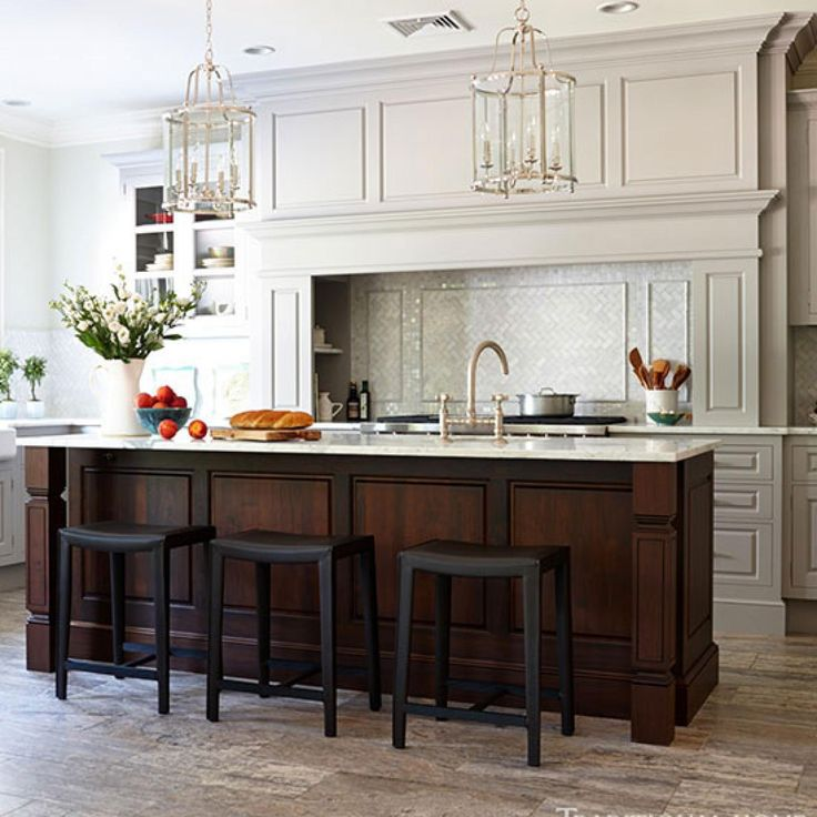 Organized efficient kitchen with cool and classic styling for Efficiency kitchen ideas
