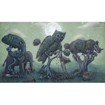 Topiary Menagerie Wall Mural   Wallpaper Australia   Buy Wallpaper U0026 Murals  Online Now Part 70