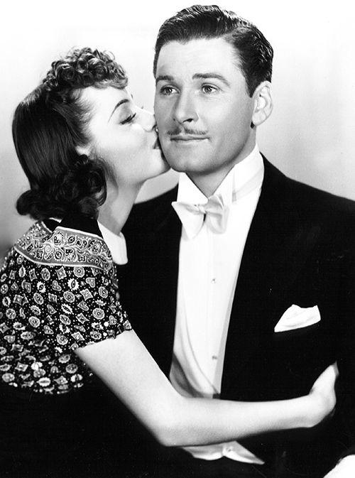 Olivia de Havilland & Errol Flynn