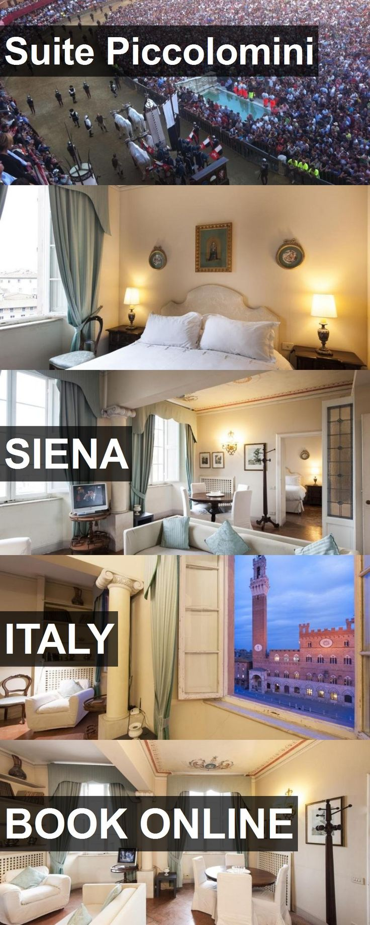 Hotel Suite Piccolomini in Siena, Italy. For more information, photos, reviews and best prices please follow the link. #Italy #Siena #SuitePiccolomini #hotel #travel #vacation