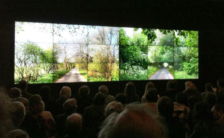 David Hockney Projection