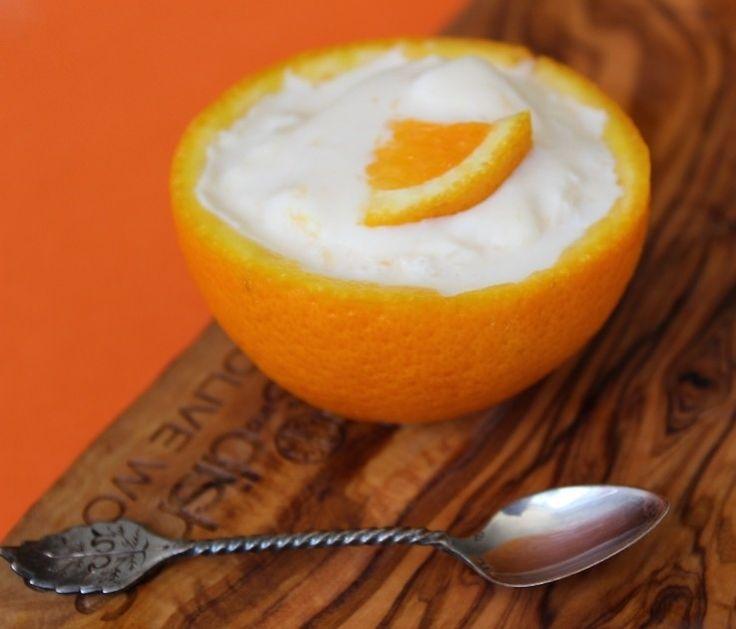 Romig sinaasappelijs
