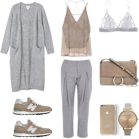 Harmony by fashionlandscape on Polyvore featuring Mode, Monki, Zara, Fleur of England, New Balance, Chloé and Topshop: