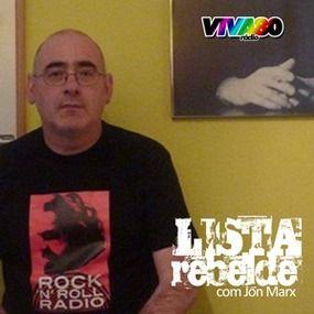 """LISTA REBELDE - 4º aniversário Foi no dia 17 de Abril de 2011, cumprem-se hoje 4 anos, que foi para o ar a estreia do primeiro programa de autor da VIVA80-RADIO; a """"Lista Rebelde"""", com Jon Marx. Espaço semanal onde o autor do programa e blogue com o mesmo nome, recuperou o espirito e os sons do """"Som da Frente"""", de António Sérgio, o programa que marcou uma geração de 80. A """"Lista Rebelde"""", enquanto programa de rádio, esteve no ar durante pouco mais de um ano, mas as actividades de Jon Marx…"""