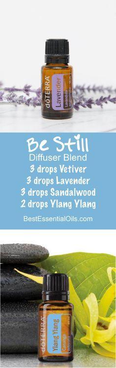 Be Still doTERRA Diffuser Blend