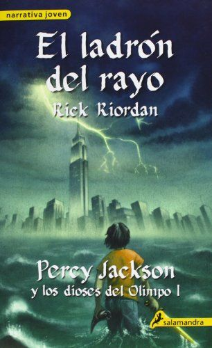 12 best book covers from around the world images on pinterest book el ladron del rayo the lightning thief percy jackson y los dioses del olimpo percy jackson and the olympians spanish edition fandeluxe Image collections