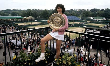 Despite all of the headlines about Andy Murray being the first Briton to win at Wimbledon in 77 years, several British women like Virginia Wade have won the   title during that time.