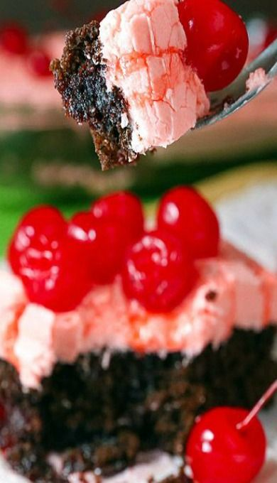 Outrageous Cheery Dr Pepper Cake