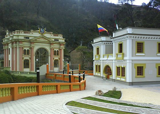 Casas de aduana en el ponte de Rumichaca