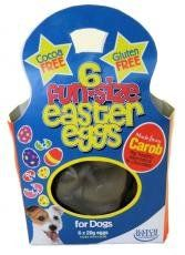 Fun-Size Easter Eggs for Dogs (6 eggs in a Pack) (186) - Great for Easter Egg Hunt | Dog Gadgets Store