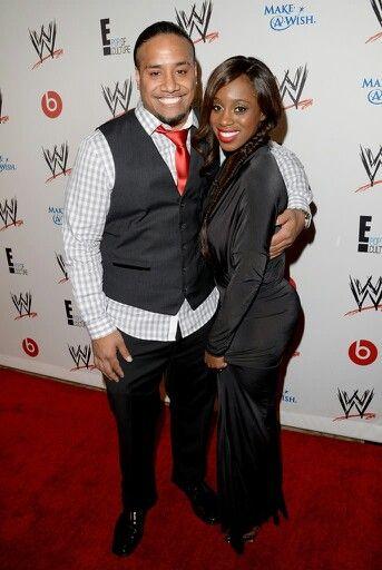 Jimmy Uso and Naomi Knight