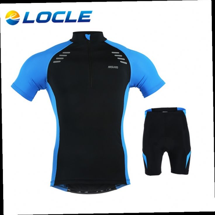 48.20$  Buy here - http://aliind.worldwells.pw/go.php?t=32787725048 - LOCLE Hot Sale 2 Colors Short Sleeve Cycling Jerseys Mens MTB Bike Jersey Ropa Ciclismo Mens Summer Cycling T Shirts  48.20$
