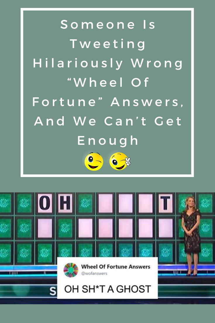 """Someone Is Tweeting Hilariously Wrong """"Wheel Of Fortune"""