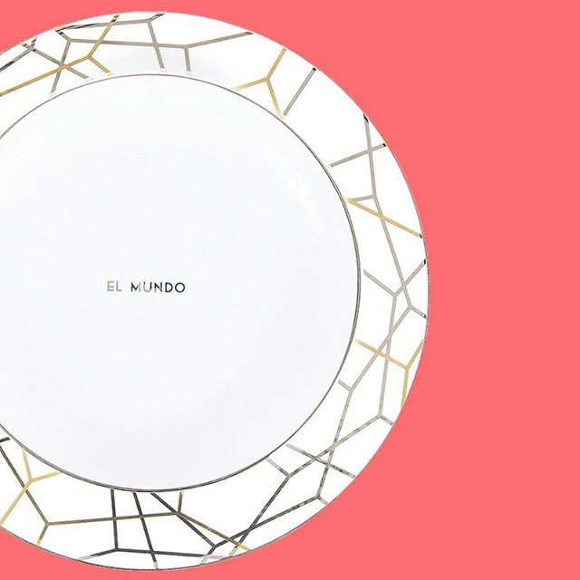 Seeing the world in a new light #mundo🌎 #world   #homedecor #dinnerware #luxuryhome