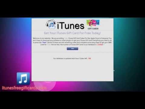 Free iTunes Codes - NO GENERATOR - June 2013