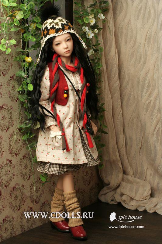Наряд Богемный - Интернет магазин Коллекционные куклы СиДоллс / CDolls.ru