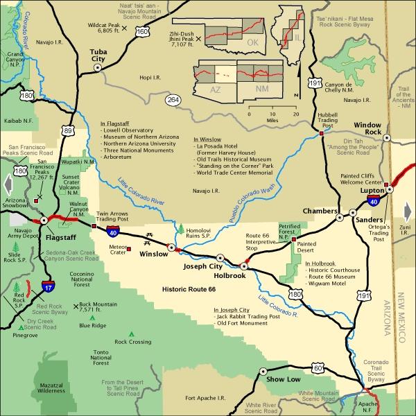 31 model Map Of Eastern Arizona
