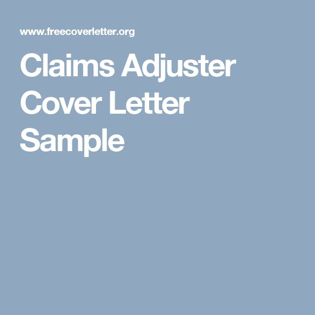 cover letter for claims adjuster position - best 25 letter sample ideas on pinterest letter format