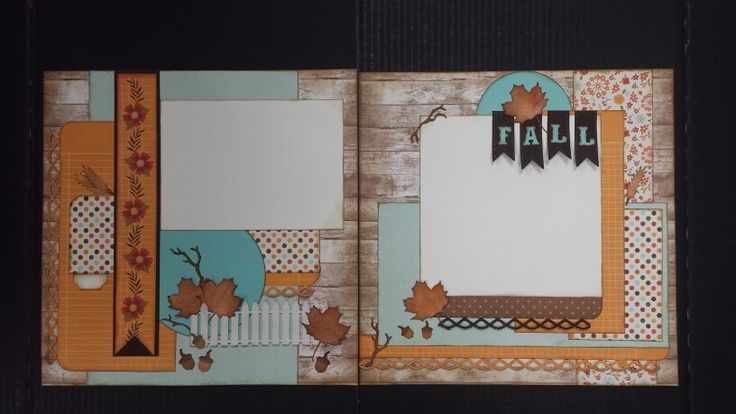 Fall Double Layout class at Treasured Memories Canada The Story of Fall Echo Park
