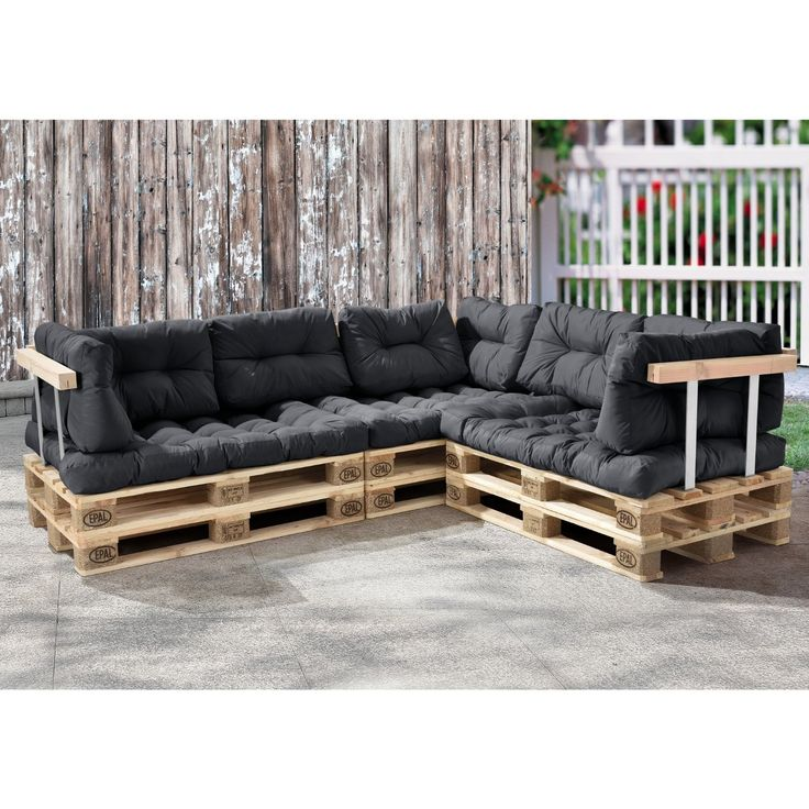 ber ideen zu palettenkissen auf pinterest paletten kissen palettenm bel garten und. Black Bedroom Furniture Sets. Home Design Ideas