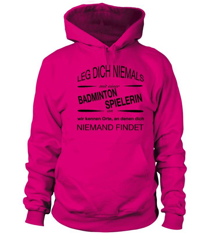 Badminton Spielerin  #image #badminton #playbadminton #photo #shirt #gift #idea #badmintonsmash