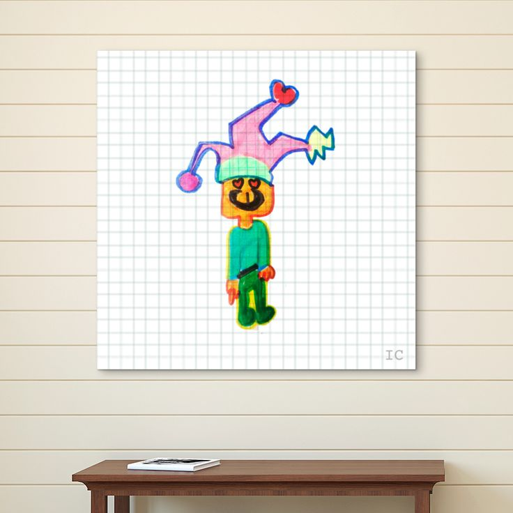 """Bufón"" Cuadro por Inusual Creative"