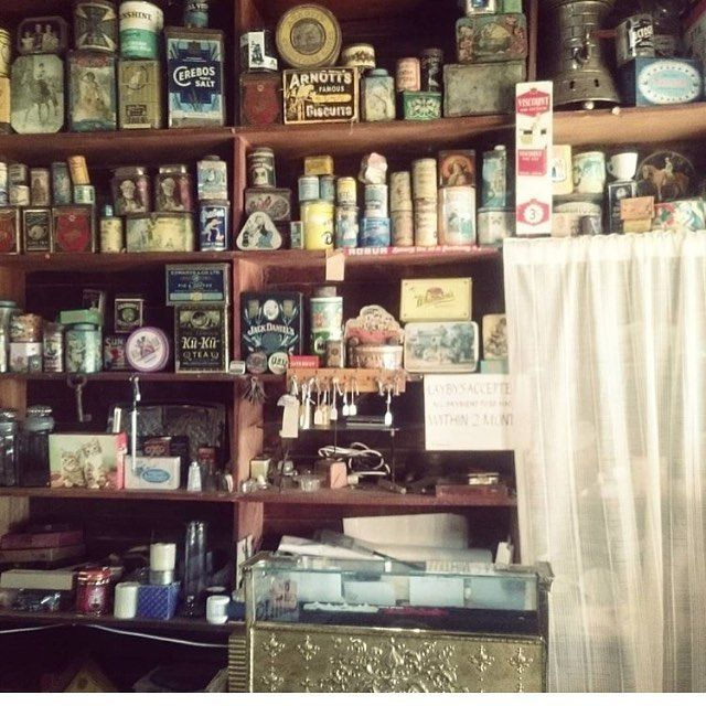 A constant source of inspiration for us...our nan/mum's antique shop Matong Memories in the NSW Riverina. The collecting gene was definitely passed down from her. . . . #arcadiantraders #matongmemories #antiqueshop #vintageinstashop #handmade #vintagelinen #vintagewares #availablesoon