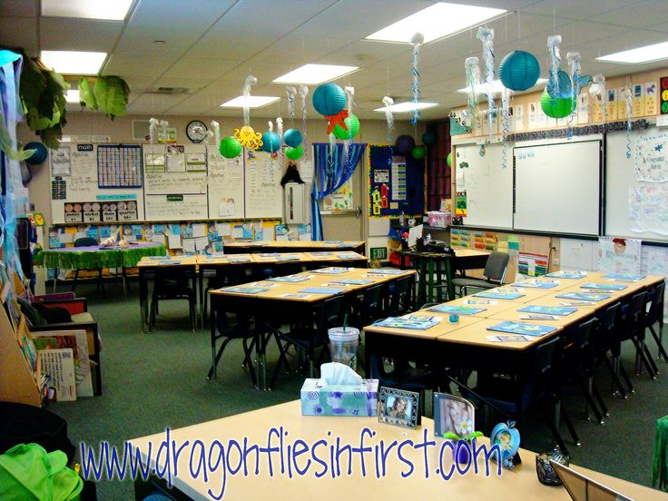 Classroom Theme Ideas For St Grade ~ Best images about fish under the sea themed classroom