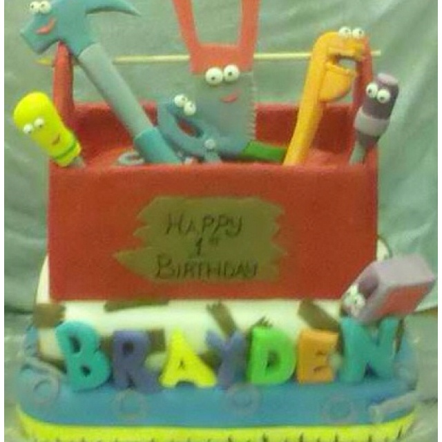 17 best images about handy manny party on pinterest for Handy manny decorations
