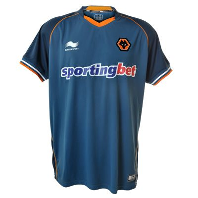 This is the new Wolves away kit 12/13, Championship outfit Wolverhampton Wanderers' new away shirt for the 2012/13 season. Wolves' new home kit for 12/13 was released last month. This a…