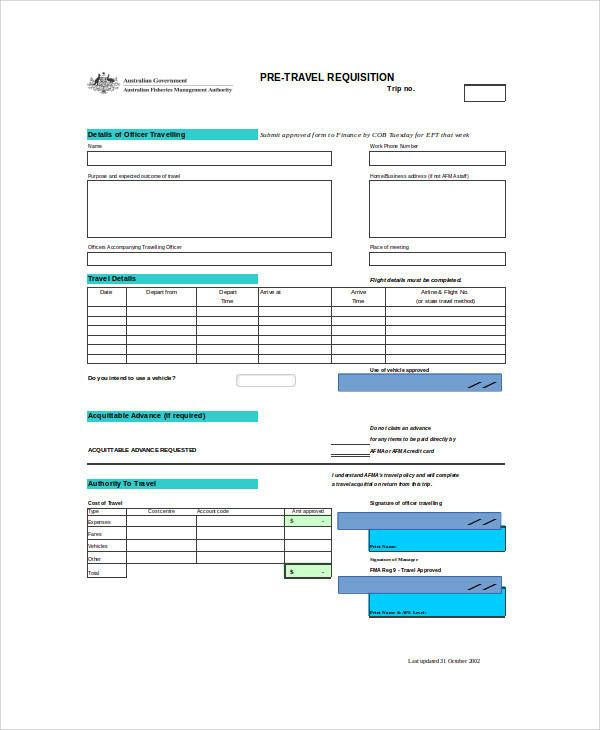 Purchase Requisition Form Templates 10+ Free Xlsx, Doc  PDF